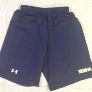 UA Youth Navy Shorts