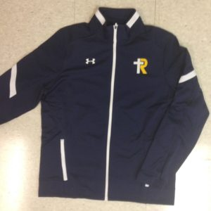 UA Women's Navy Qualifier Warm up Jacket