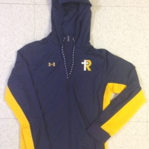 UA Men's Navy/Gold Warm Up Jacket