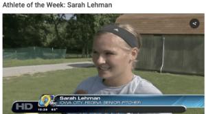 Athlete of the Week: Sarah Lehman