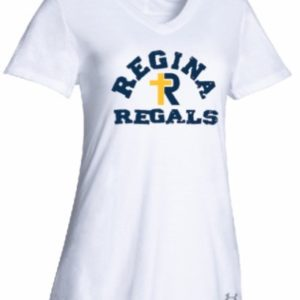 UA Women's Stadium T / White