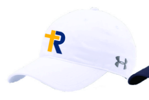 White R-Cross Hat