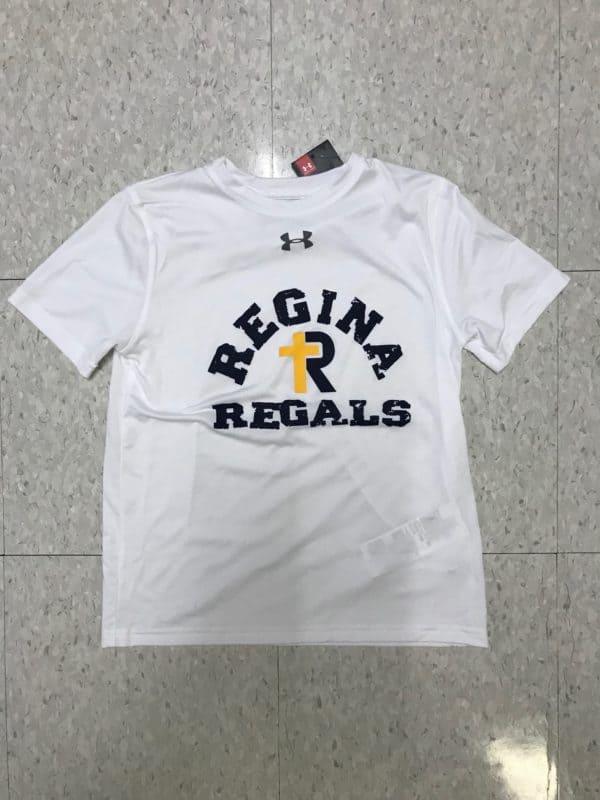 Youth UA Locker Tee Regina Regals White