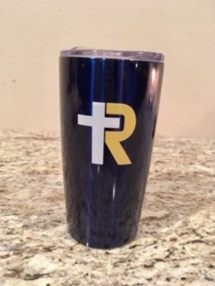 R-Cross Stainless Coffee Travel Cup