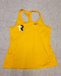 Nike Yellow Tank Top (women's)