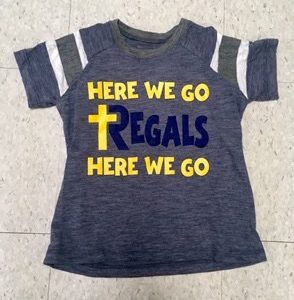 Here We Go Regals Tee (Navy Regals)