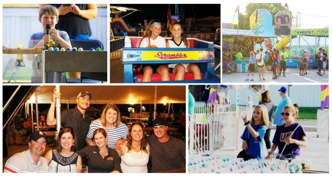 Collage of photos from the 2018 Family Fun Fest