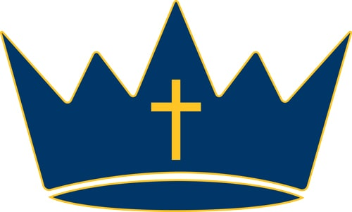 Regina  Blue - Crown Only Logo