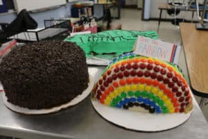 Decorated Cakes for the PISA Cake Auction Fundraiser