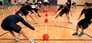 photo of dodge ball game