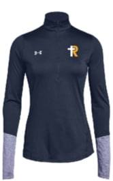 UA Locker 1/2 Zip--Womens Navy