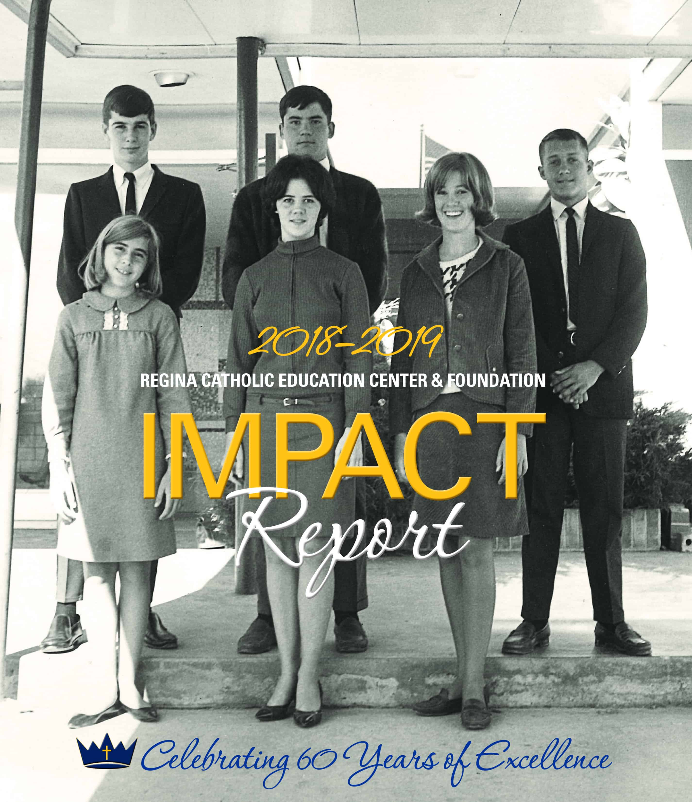 Cover of the 2019 Impact Report