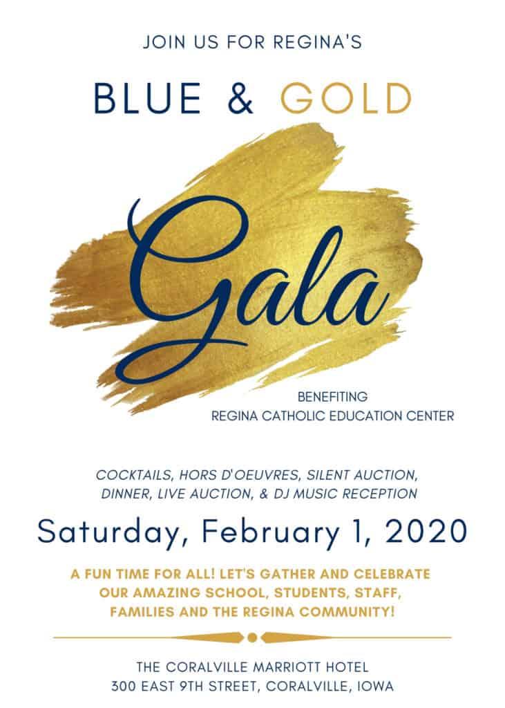 Regina Gala 2020 Invitation