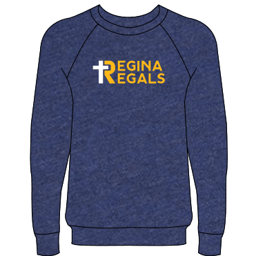 Bella Navy Fleece Crew