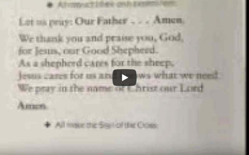 Prayer page verse