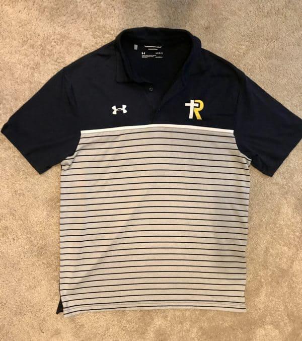 UA Striped Polo