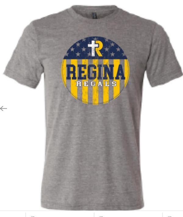 Bella Adult Tshirt--Navy