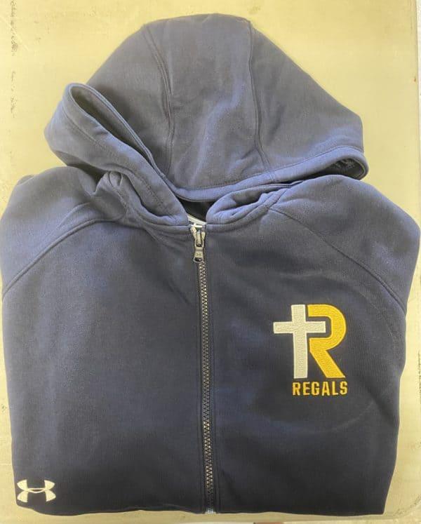 UA Ladies Full Zip Hooded Sweatshirt