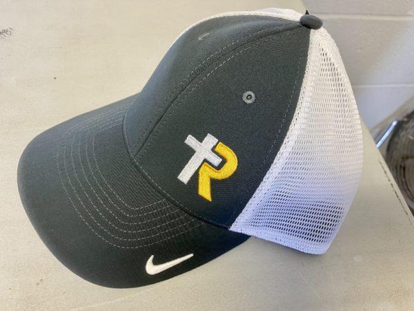 Nike Dri-Fit Mesh Back Cap--Navy